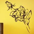 Samolepka na zeď Růže 012 (146558) - 1