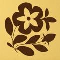 Samolepka na zeď Květiny 022 (146262) - 1