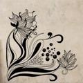 Samolepka na zeď Květiny 020 (146261) - 1