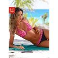 s.Oliver RED LABEL Beachwear Bikiny s kosticemi s.Oliver RED LABEL pink-černá - košíček E (739007) - 1