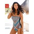 LASCANA Plavky »Marrakesh« Lascana černá-s potiskem - košíček B (734737) - 1