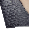 Šedobéžové kotníkové boty na klínku se stříbrnou špičkou Timeless (4148) - 3