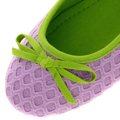 Pletené fialové baleríny Qube (4194) - 2