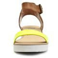 Páskové žluté sandály na platformě Timeless Quing (4136) - 3