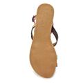 Barevné páskové gepardí sandály Timeless (4137) - 3