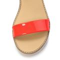 Páskové oranžové sandály na platformě Timeless Quing (4134) - 3