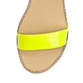 Páskové žluté sandály na platformě Timeless Quing (4136) - 2