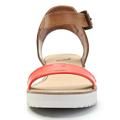 Páskové oranžové sandály na platformě Timeless Quing (4134) - 5