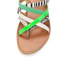 Barevné páskové zebra-snake sandály Timeless (4286) - 6