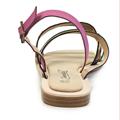 Barevné páskové gepardí sandály Timeless (4137) - 5
