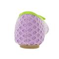 Pletené fialové baleríny Qube (4194) - 4