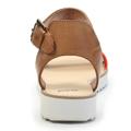Páskové oranžové sandály na platformě Timeless Quing (4134) - 2
