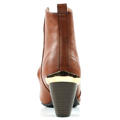Brandy kotníkové boty na podpatku se zipem Claudia Ghizzani (4149) - 4