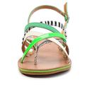 Barevné páskové zebra-snake sandály Timeless (4286) - 4