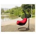 Závěsné relaxační křeslo NELA - černé (345714) - 1