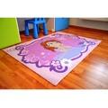 Růžový dětský koberec Sofia the First 01 Becomming a princess (335083) - 4