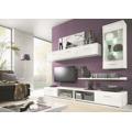 MALLIBU, obývací stěna, bílá/bílý lesk (368327) - 1