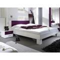 Smartshop VIERA ložnice s postelí 180x200, bílá/fialová (433393) - 2