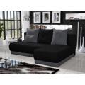 Rohová sedačka INSIGNIA 12, černá/šedá (390676) - 1