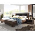 Smartshop VIERA ložnice s postelí 180x200, dub monastery/černá (433395) - 3