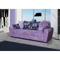 Pohodlná pohovka s úložným prostorem ve fialové barvě F1141 (473138) - 1