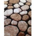 Koberec hnědý vzor kámen 200x300 TK3201 (724850) - 1