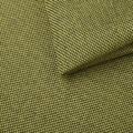 Zelené křeslo v retro designu s taburetem F1188 (506490) - 2