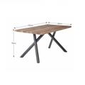 Jídelní stůl 150x80cm v provedení světlé švestky TK2092 (530871) - 3