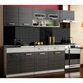Kuchyňská linka 260 cm grafit bis KN2000 (351017) - 1