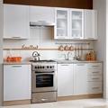 Kuchyňská linka MONDA 240 cm bílá (356285) - 1