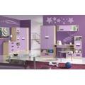 Dětská skříňka v dekoru dub kremona a lavenda ve fialové barvě typ G04 KN083 (367451) - 3