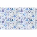 Koberec modro krémový se vzorem 160x230 TK3293 (724880) - 1