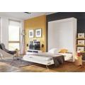 Výklopná postel 140 cm v bílé barvě typ CP 01 KN632 (362958) - 2