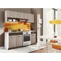 Kuchyňská linka 180 v moderní barvě dub picard s pracovní deskou KN2000 (480194) - 1