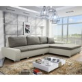 Univerzální sedací souprava s úložným prostorem v kombinaci bílé a šedé barvy TK157 (362985) - 1