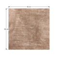 Koberec, světle hnědá, 80x150, ANNAG (533463) - 5