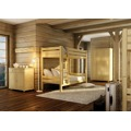 Ochranná bariera k posteli z borovicového dřeva typ KL149 KN095 (367605) - 9