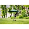 Slunečník hliníkový zahradní zelený 270 cm DF-003342 (362287) - 1