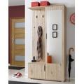 Předsíňová stěna CUBA ( věšák, botník, zrcadlo, skříň ) (358672) - 1