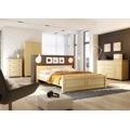 Dřevěná klasická postel o šířce 100 cm typ KL121 KN095 (367614) - 6