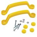Sada plastových madel 2 ks žluté (577355) - 1