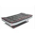Rozkládací tyrkysová pohovka na každodenní spaní TK318 (531144) - 4