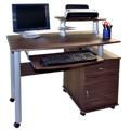 PC stůl, tmavý ořech, F074 (352847) - 1