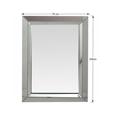 Zrcadlo ve stříbrném provedení TYP 1 TK2196 (533866) - 2