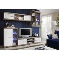 Moderní obývací stěna v barvě dub san remo typ III KN130 (367095) - 1
