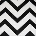 Černo-bílá lavice TK071 (366485) - 2
