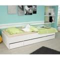 Jednolůžková postel 90x200 bílá TK051 (366511) - 1