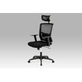 Kancelářská židle s podhlavníkem a houpacím mechanismem KA-B1013 BK (366865) - 1