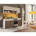 Kuchyňská linka 180 v moderní barvě dub sonoma s pracovní deskou KN2000 (480193) - 1