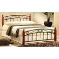 Kovová postel F146 180x200 cm (354561) - 1